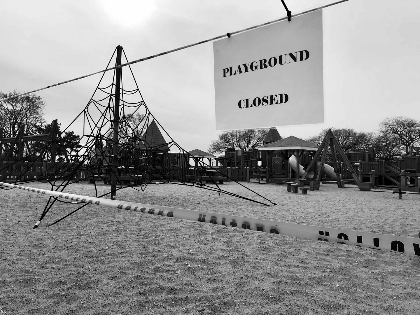 Empty Playground, Connecticut, USA, 18 March © Chris Craymer