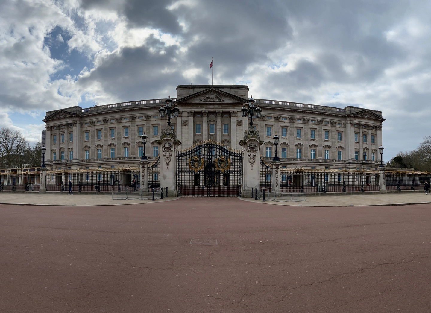 Taken on 28th March while cycling past Buckingham Palace. © Adam Becksmith
